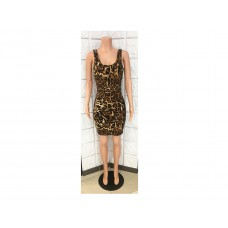 Leopard Animal Print Dress